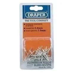 Draper-Blind-Rivets-2.5mm-x-7mm