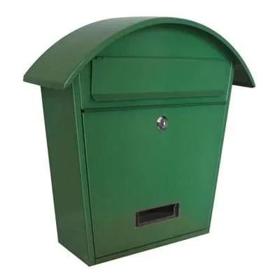 Gardag-Arcade-Mail-Box-Green