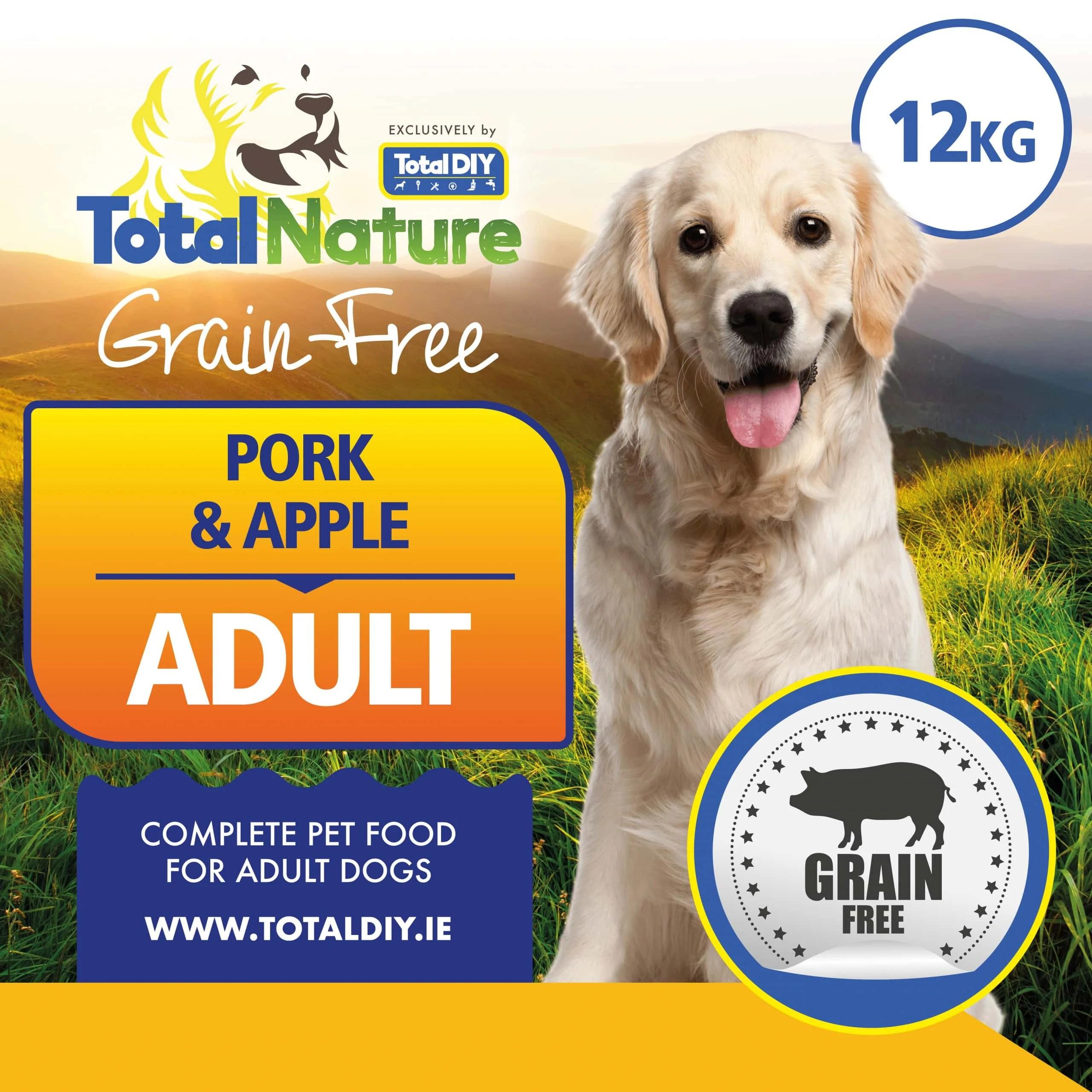Total-Nature-Grainfree-Adult-Pork-Apple-12kg