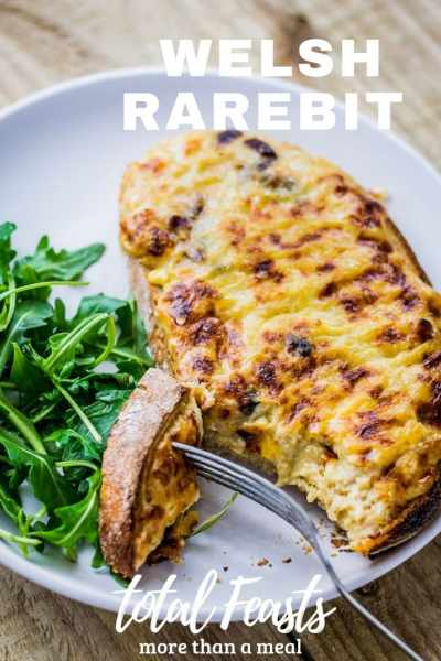 Easy and delicious Welsh Rarebit