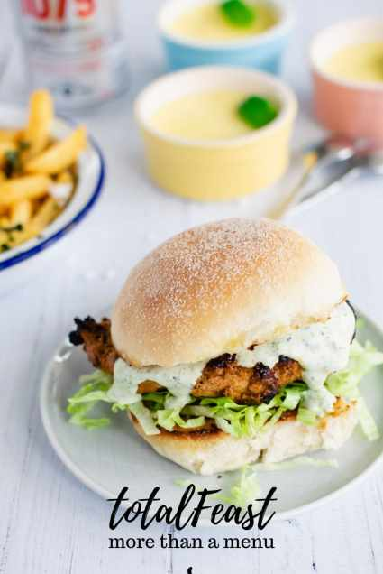 A crowd-pleasing menu with a brilliant chicken sandwich, easy way to juice up your fries game, and a perfect treat to finish.