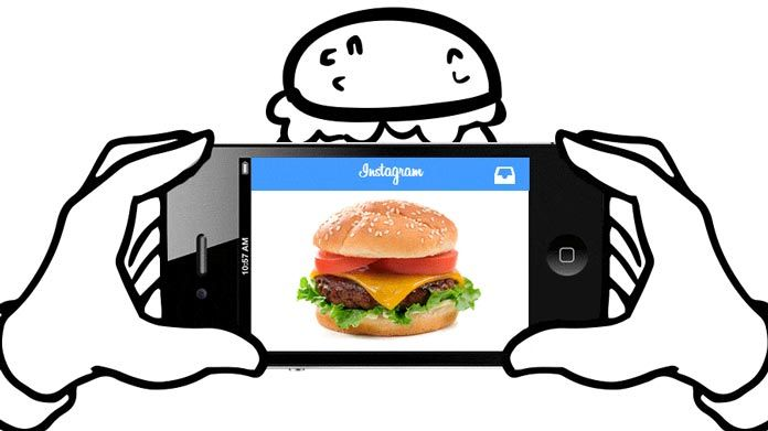 The world of instagram and food an infographic total food service instagram malvernweather Image collections