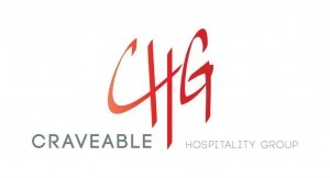 Craveable Hospitality Groups' New Logo.