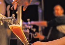 CO2 dispensing keg beer