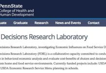 Penn State Food Decisions Research Laboratory - Foodservice Ethics