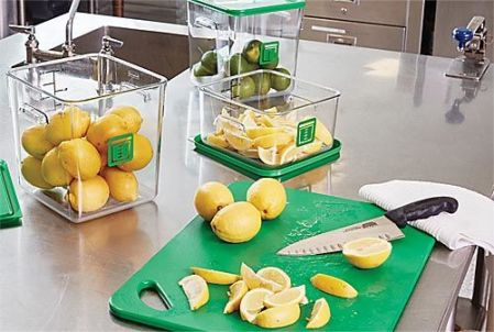 Rubbermaid Commercial Products Color-Coded Foodservice System