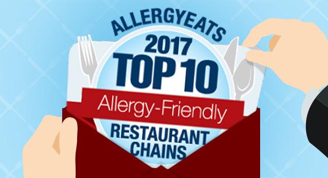 AllergyEats Allergy-Friendly Restaurant Chains