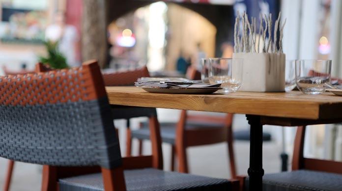 lunch restaurant empty seats sales tax
