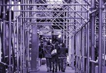 scaffolding, organic waste separation