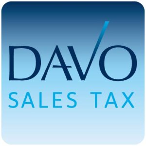 DAVO Sales Tax Management