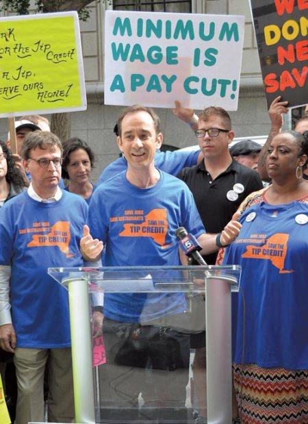tip credit rally NYC hopsitality alliance