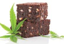 marijuana edibles cannabis pot brownie