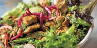 vegan vegetarian dining options