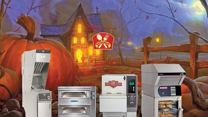 Halloween ventless cooking equipment