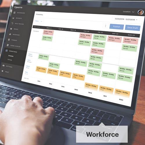 Upserve Workforce Tableside Mobile POS