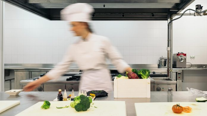 chef cooking velocity and momentum