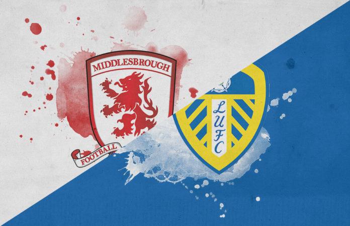 EFL Championship 2018/19 Middlesbrough Leeds Tactical Analysis Statistics