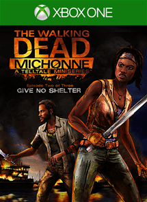 TWD: Michonne 2 Box Art