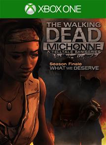 TWD Michonne 3 Cover