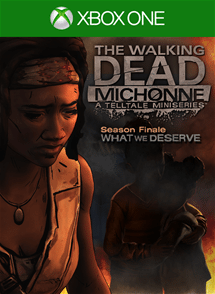 TWD Michonne 3 Cover