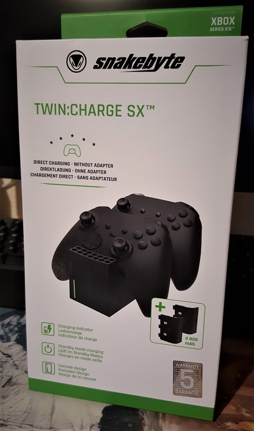 snakebyte twin:charge sx