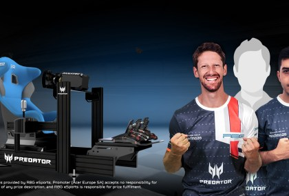 Acer Predator Cup: Win A Drive With Romain Grosjean's Esports Team