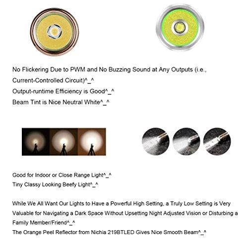 lumintop flashlights reviews