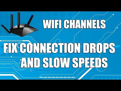 VIDEO: Understanding WIFI Channels, how to adjust them and Fix Low WIFI Signal and Connection Drops Analyze Change Router Channel