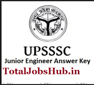 upsssc-je-answer-key
