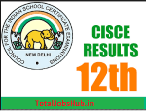 isc-board-class-12th-result