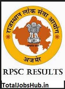 rpsc-ras-pre-exam-result