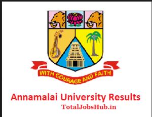 annamalai-university-results