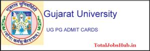 gujarat-university-admit-card