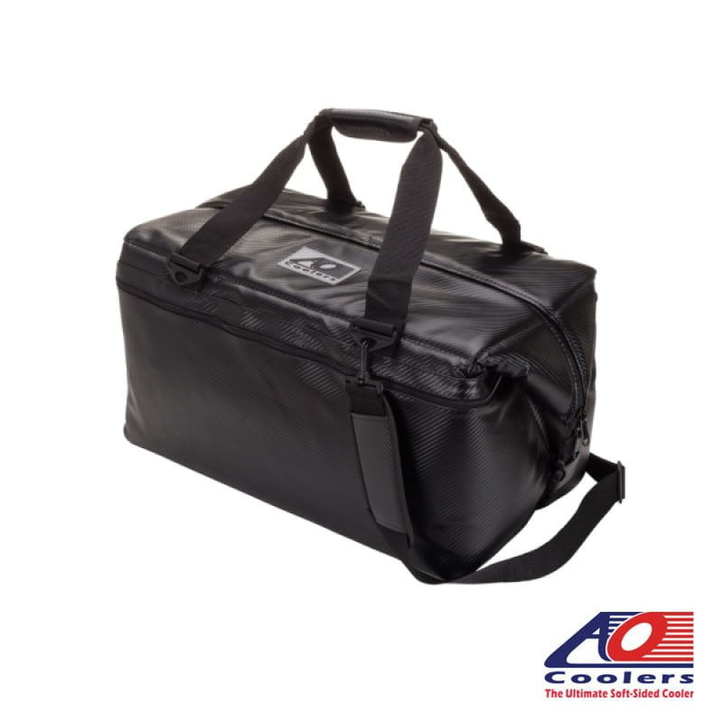 48 Can AO Coolers Carbon Cooler Bag
