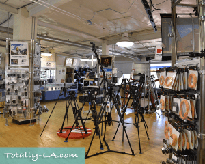 Pro camera gear store