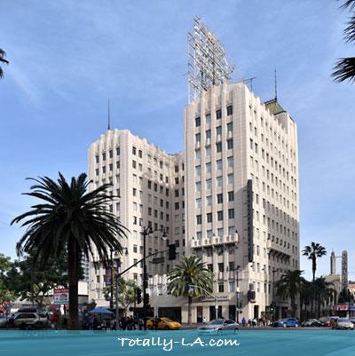 Hollywood bank bulding