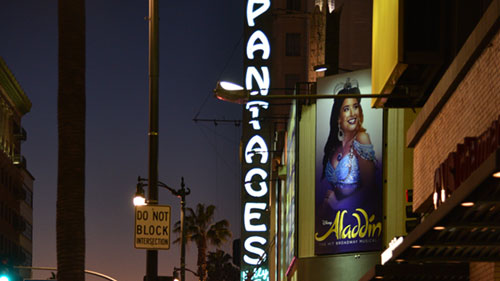 howard hughes ghost at Pantages
