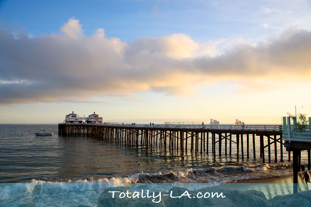 iconic malibu pier