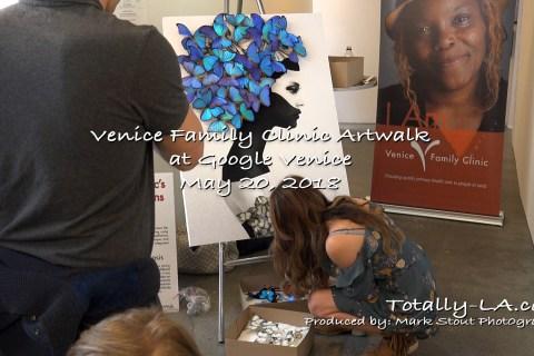 Venice Family Art Walk Hosted by Google in Venice Beach