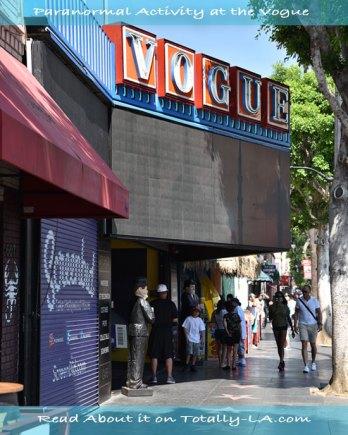 Vogue Theatre Los Angeles