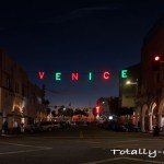 Venice Sign Holiday Lighting and Street Party