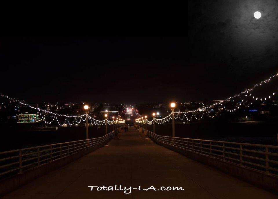 Manhattan Beach Pier Christmas