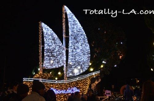 Burton Chace Park Christmas Decorations