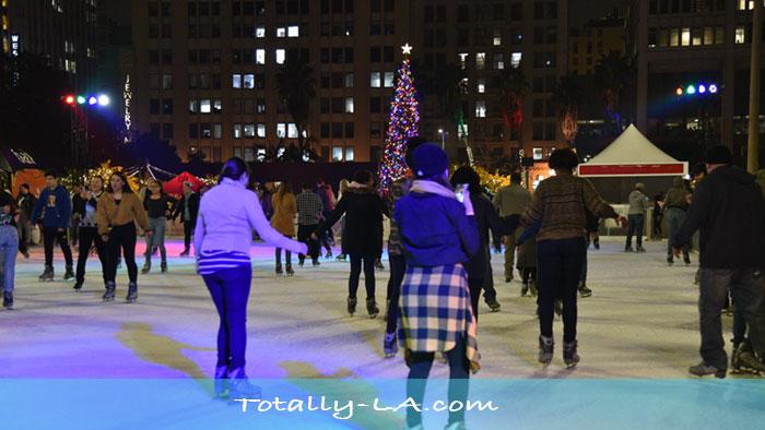 DTLA Ice Skating