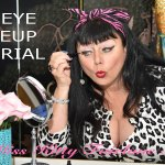 Comedy: Miss Kitty Fairlane's Cat Eye Makeup Tutorial