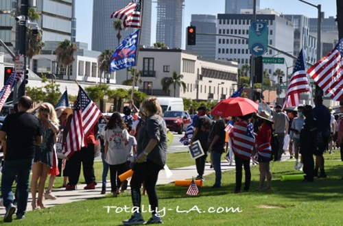 Protest March Beverly Hills