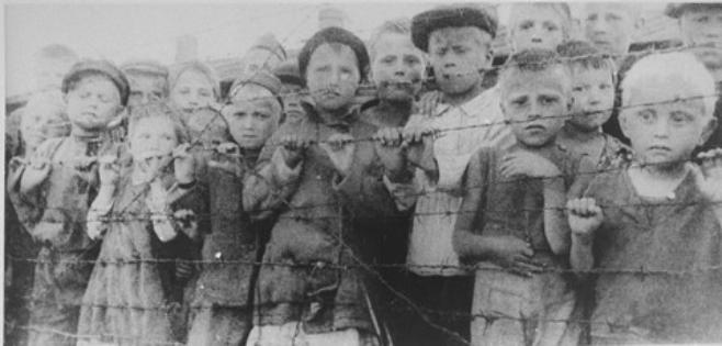 kids in concentration camps