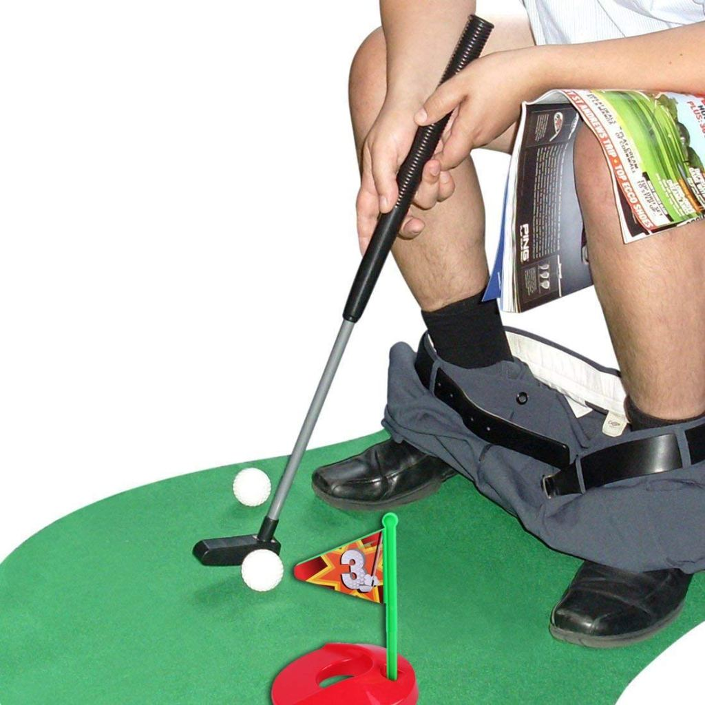 Potty Putter Toilet Golf for Christmas stocking filler