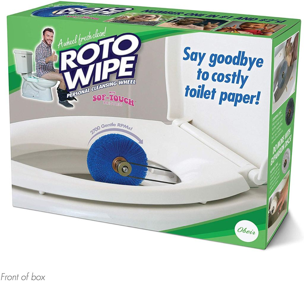 "Prank Pack ""Roto Wipe"" for Christmas stocking filler"