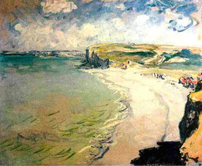 Image result for Beach in Pourville